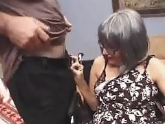 Granny Places That Lollipop In Her Mouth