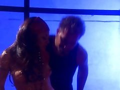 Asian Lady Kaylani Lei In Brief Milky Sundress Bares Her