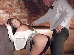 Guu Gets Very Lucky With Big-titted Abigail Mac