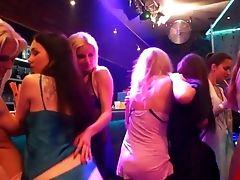 Gorgeous G/g Honies Masturbating In The Club