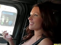 Big Jugged Red-haired Jada Coxxx In Black Top Was An