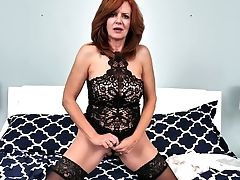 Torrid Red-haired Matures Nymphomaniac Andi James Is More Than Ready For Onanism