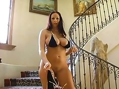 Lecherous Cougar With Brilliant Natural Orbs And Big Rump Gianna Michaels Gets Laid