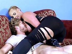 Once Again Phoenix Marie Receives A Dose Of The Dual Foray
