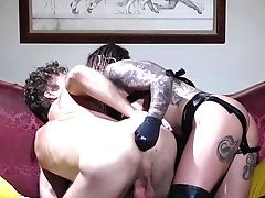 Superior Big Bottomed Karma Rx Treats Subjugated Dude With Buttfuck Going Knuckle Deep