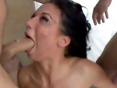 Karina Oreilly Is Providing Wild Dual Dt Until She Receives Her Prized Jizz Shots From Studs
