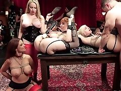 Wild Big Racked Whore Syren De Mer Gets Tied Up And Fisted Truly Hard