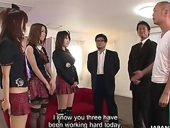 Nao Kojima And Two More Japanese Nymphomaniacs Are Ready For Orgy