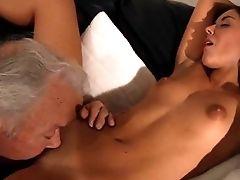 Youthful Fuckbox To Slurp Bliss Lucky Grandpa