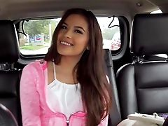 Zaya Cassidy Practices Back Seat Gonzo Bang-out