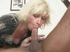 Blonde Mom-in-law Entices Me But Wifey Finds Out!