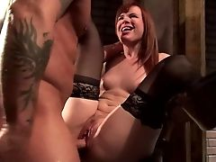 Lusty Dark-haired, Claire, Is One Exotic Bitch. She Put On