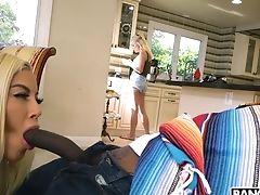 Interracial Fucking With Large Bra-stuffers Blondie Bridgette B. Hd