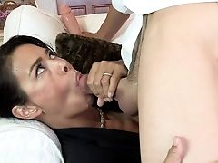 Smoking Hot Asian Mom Dana Vespoli Gives Flawless Blow-job To