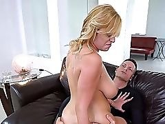 Tasty Inches For The Chesty Mom In Home Xxx Romance