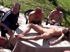 Gang-fuck Grill Symposium With Anita Berlusconi