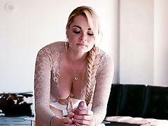 Jizm Addicted Hoe Skyla Novea Likes To Flash Off Her Tits And She Loves Fuckfest
