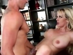 Stormy Daniels Fucks Her Office Boytoy