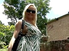 Huge-titted And Horny Blonde Ultra-cutie With An Amazing And Arousing