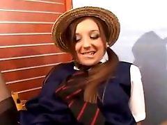 Brit College Girl Apparel - Mmf Threesome - Cim