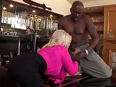 Buxomy Latina Cutie Bridgette Gets Her Cunny Pounded With A Big Black Cock