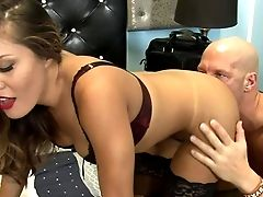 Exotic Stunner Mena Mason Gets Her Gorgeous Arse Ate And