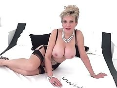 More Masturbate Off Instructions From Big-boobed Matures Lady Sonia