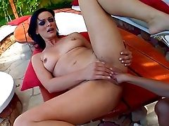 Revved On Whorish Clara G With Natural Tits And Lengthy