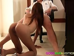 Youthful Thai Spinner Needs A Fuck-stick And A Cheeseburger