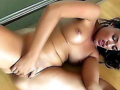 Ava Dalush Loves To Stay Sometimes At Her Building So She Can Finger Her Horny Muff