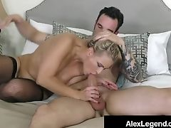 Blonde Beauty Angel Allwood Is Snatch Pounded By Alex Legend!