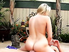 Danny Mountain Pops Out His Sausage To Fuck Blonde Asian Mia Malkova