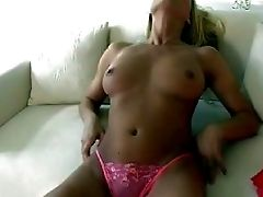 Revved On Gorgeous Youthfull Blonde Sweetheart With Nice Natural Melons