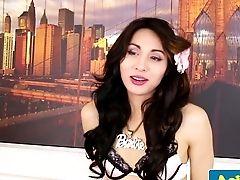 Asian Tgirl Model Playing With Bum And Jizz-shotgun