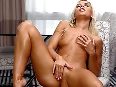 Lola Myluv Is A Lovely Blonde Haired Female. Sweet Nude