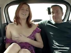 Naive Ginger-haired Teenager With Pretty Face In Pink Undies And